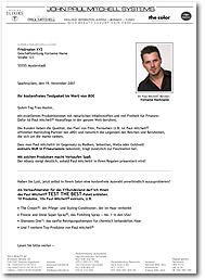 Akquiseanschreiben Mailings